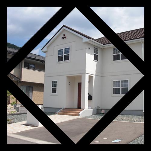 <p class='mds'>住宅事業</p><p>岩手県と四国地方にて、新築住宅事業を展開。<br>安全安心で、快適に暮らせる<br class='pcSite'>Sustainable House(サスティナブル ハウス)を実現します。</p>